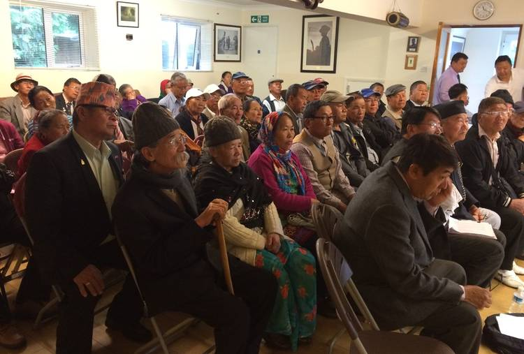 GURKHA VETERANS MEETING 13 JULY 2015