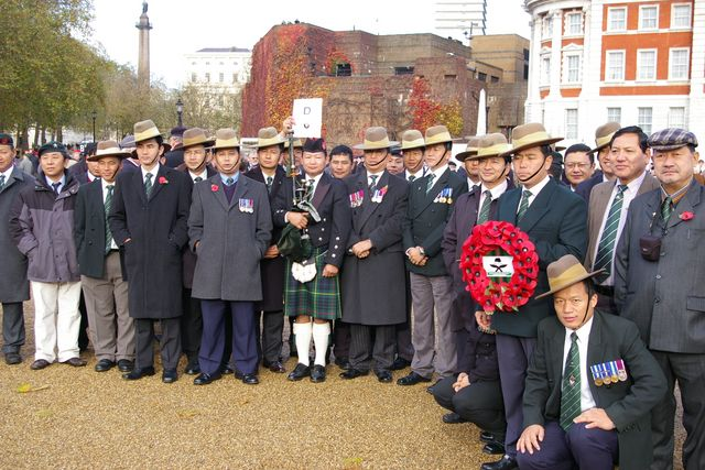 Remembrance Sunday Cenotaph Ceremony March 2009 6