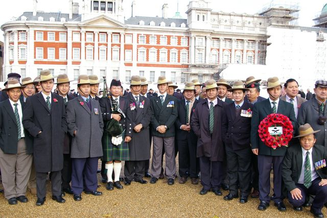 Remembrance Sunday Cenotaph Ceremony March 2009 7