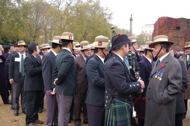 Remembrance Sunday Cenotaph Ceremony March 2009 16