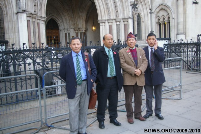 BGWS March To Royal Courts Of Justice London Day 1