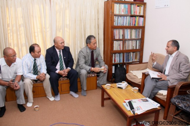 Chair BGWS Nepal Visit 9-16 October Post Report