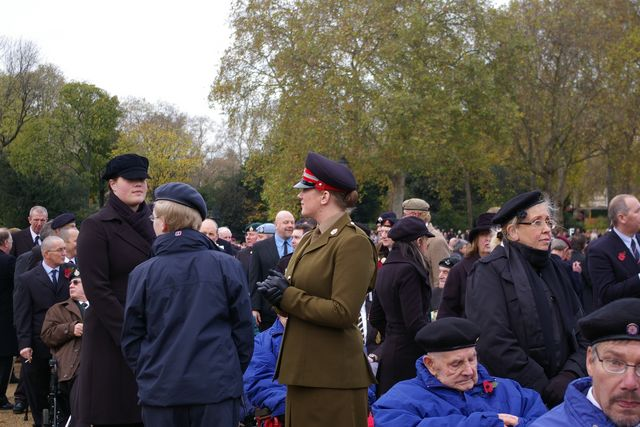 Remembrance Sunday Cenotaph Ceremony March 2009 19
