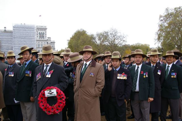 Remembrance Sunday Cenotaph Ceremony March 2009 24