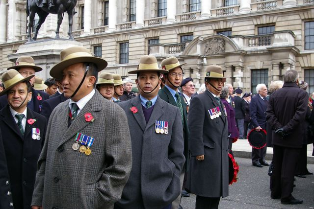 Remembrance Sunday Cenotaph Ceremony March 2009 27