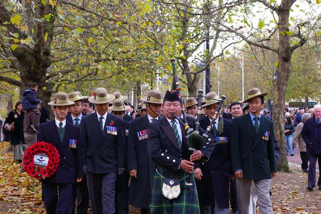 Remembrance Sunday Cenotaph Ceremony March 2009 31
