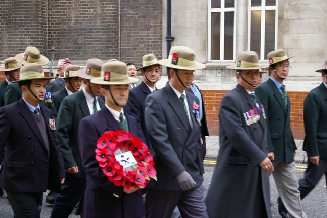 Remembrance Sunday Cenotaph Ceremony March 2009 38