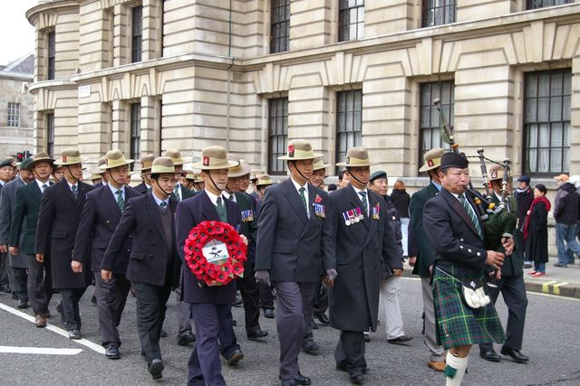 Remembrance Sunday Cenotaph Ceremony March 2009 39