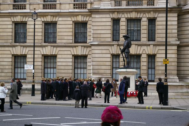 Remembrance Sunday Cenotaph Ceremony March 2009 41