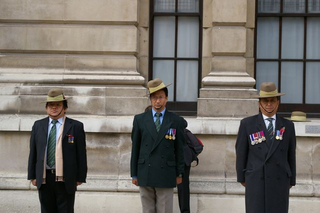 Remembrance Sunday Cenotaph Ceremony March 2009 43