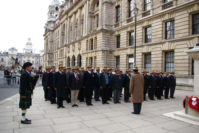 Remembrance Sunday Cenotaph Ceremony March 2009 44