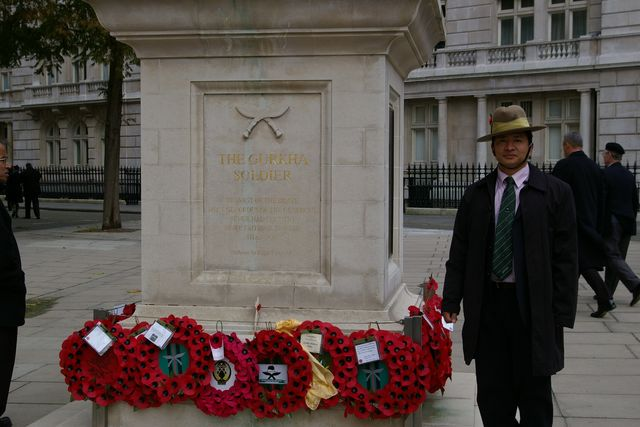 Remembrance Sunday Cenotaph Ceremony March 2009 52