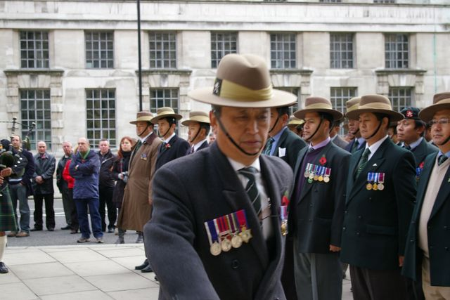 Remembrance Sunday Cenotaph Ceremony March 2009 62